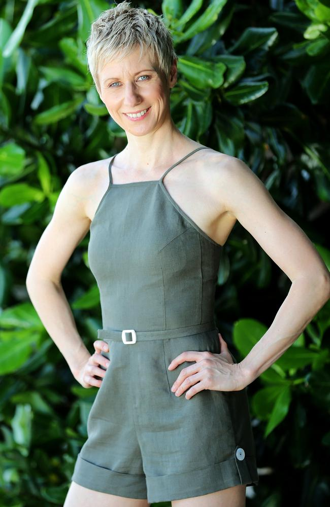 Anastasia Woolmer, a memory champion and former ballerina, was the first person eliminated from the new season of Australian Survivor: Champions V Contenders. Photo: Nigel Wright.