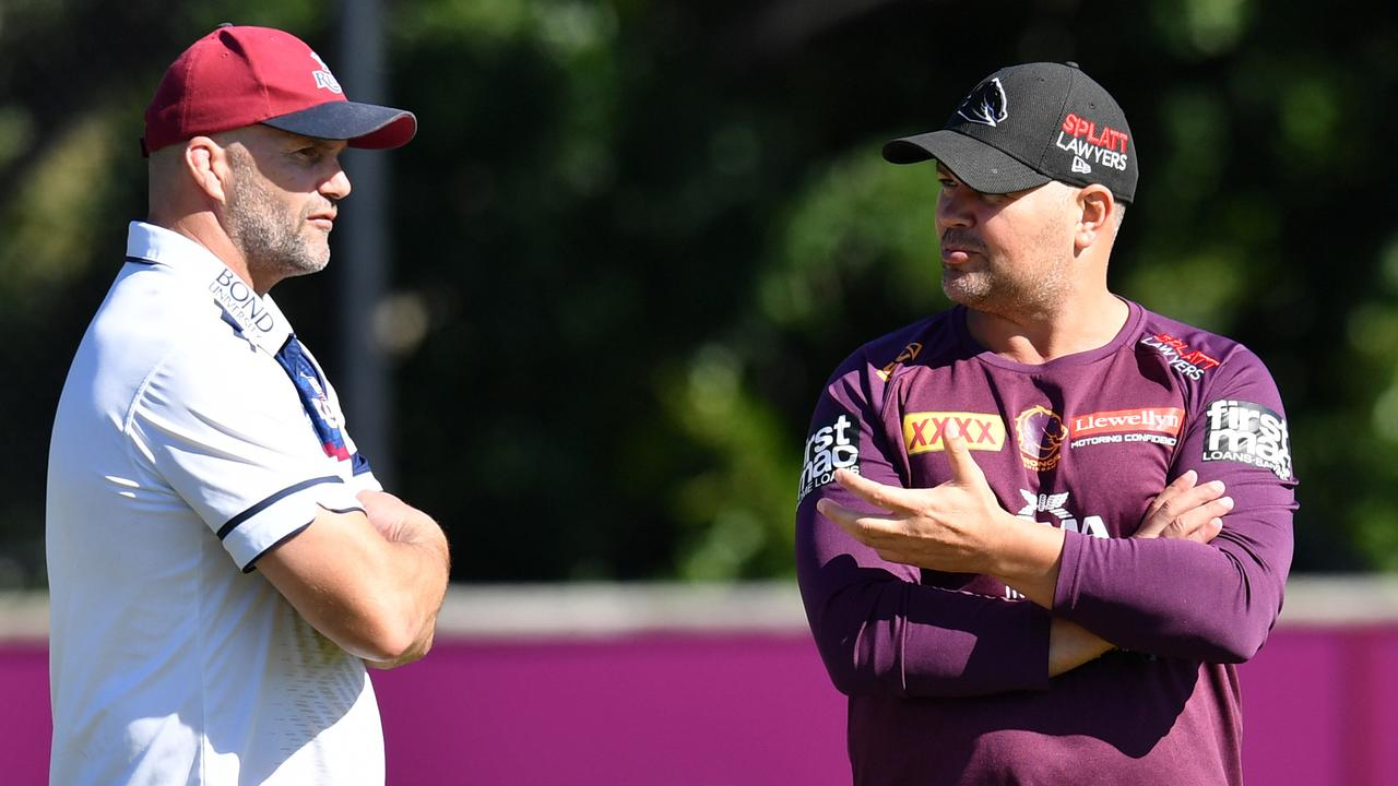 Ryan runs his eye over Anthony Seibold's talent-packed squad. Photo: AAP Image/Darren England