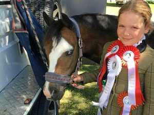 Girl, 10, in coma after horse fall to stay in ICU