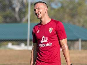 Tough Tom loves to defend for Brisbane Roar
