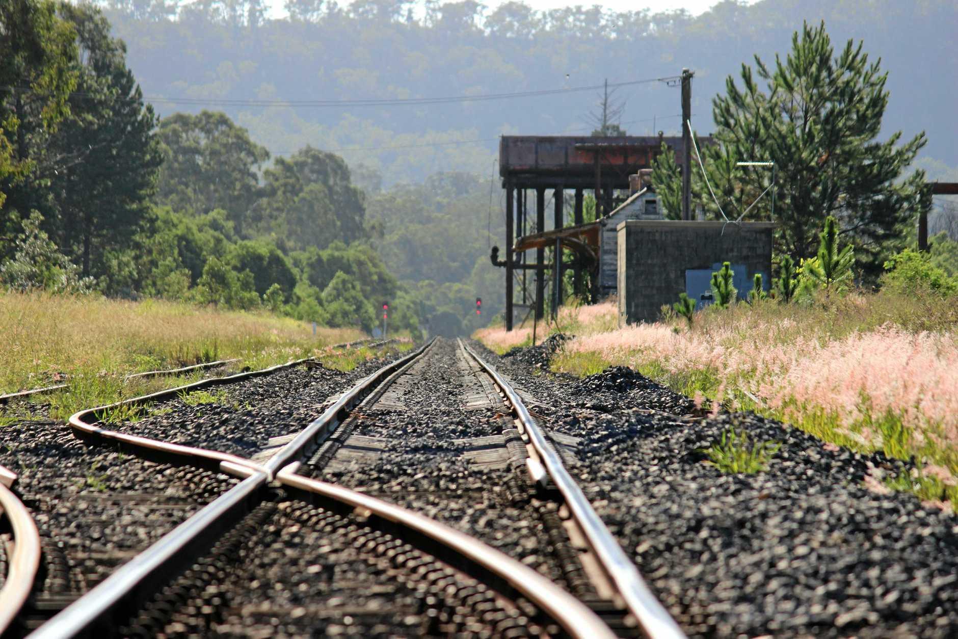 The historic Glenreagh railway yard.