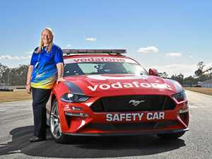 'Scrambled': What it's like driving the Supercars safety car