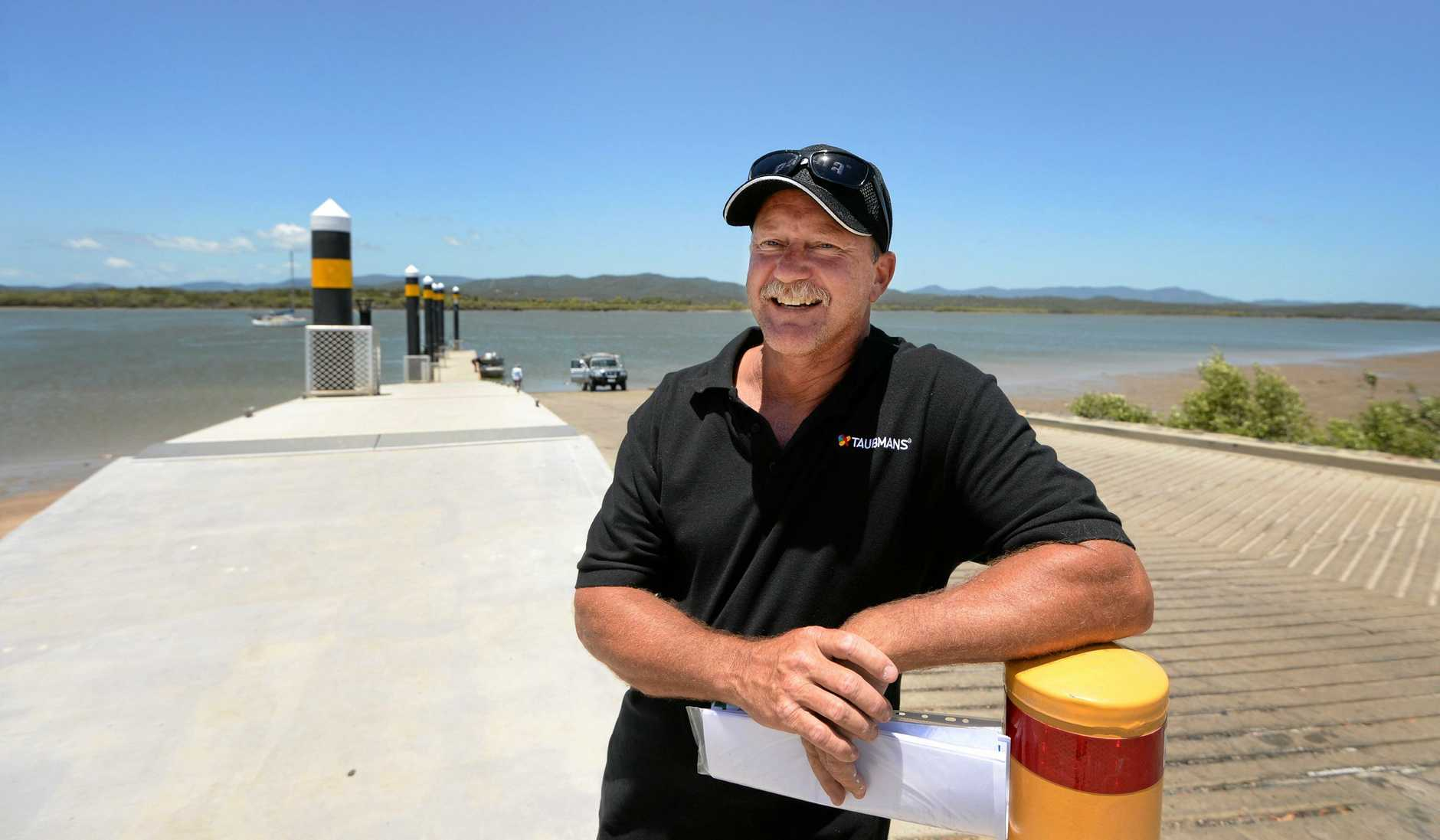 Clive King, former president of the CQ Boat Ramp Action Group, continues his push for another boat ramp on the Capricorn Coast.
