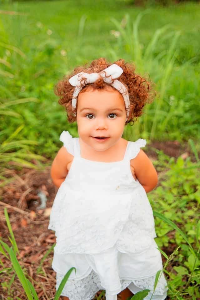Adeline Cunningham, 2 years.