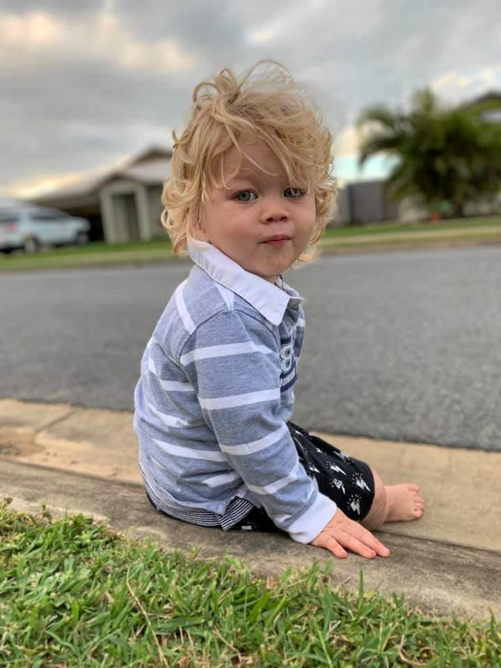 Tate Smits, 12 months.