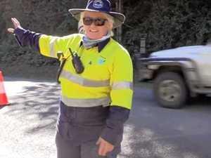 All female traffic control crew hits north coast streets