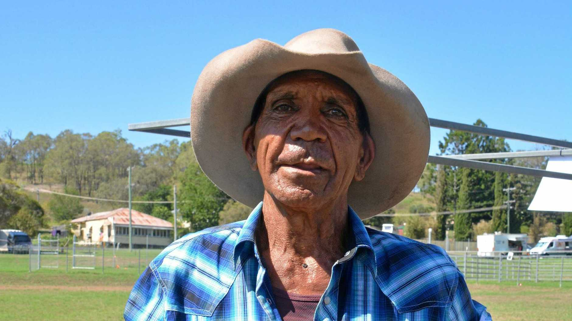Stanley Brown (Mickelo) is being remembered for being a larrikin and his kind gesture towards his community.