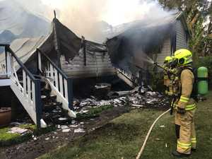 'Totally destroyed': Fire rips through Northern Rivers home