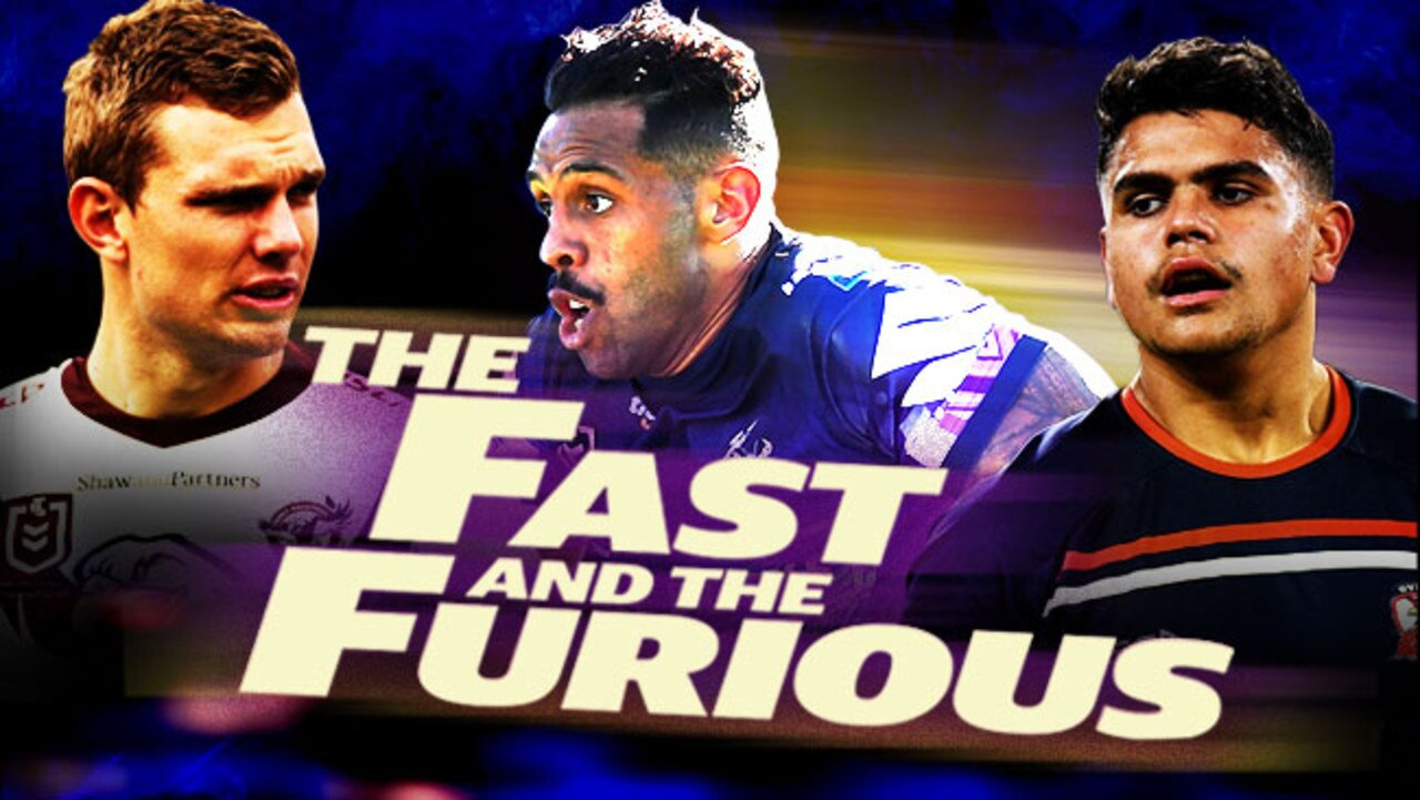 Rugby league's fastest men have been revealed.