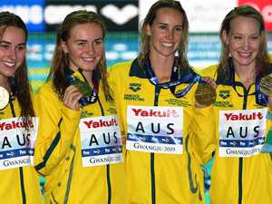 Aussies set two shock world records in the pool