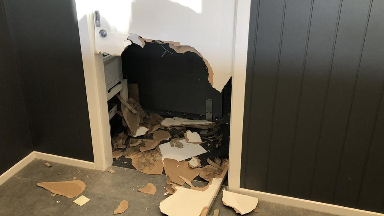 MP Will Fowles has trashed a Canberra hotel after flying into a rage this morning. Picture: Twitter/@kelliesloane