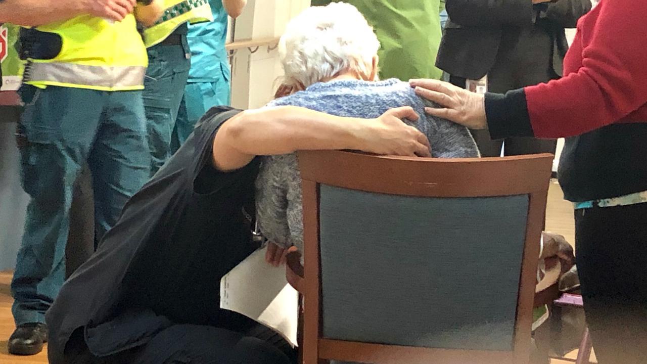 Inside the Earle Haven nursing home area.