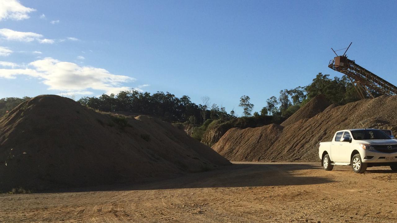 The Barro Quarry at Mt Cotton.