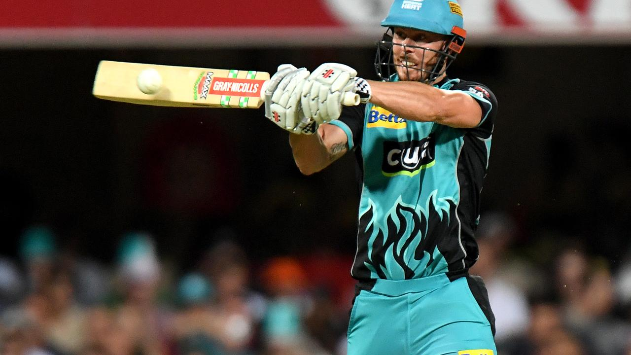 Chris Lynn's Brisbane Heat and the Sydney Thunder open the season. Picture: Bradley Kanaris/Getty Images