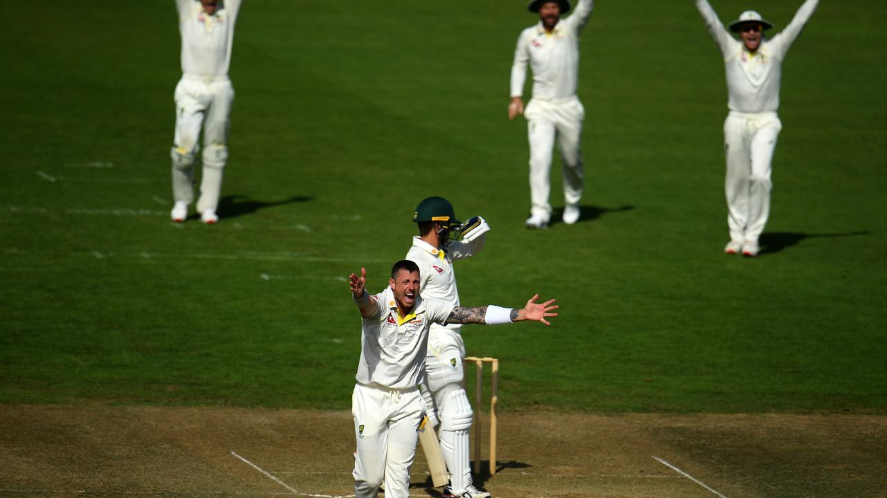 James Pattinson had a day out in another manic day.