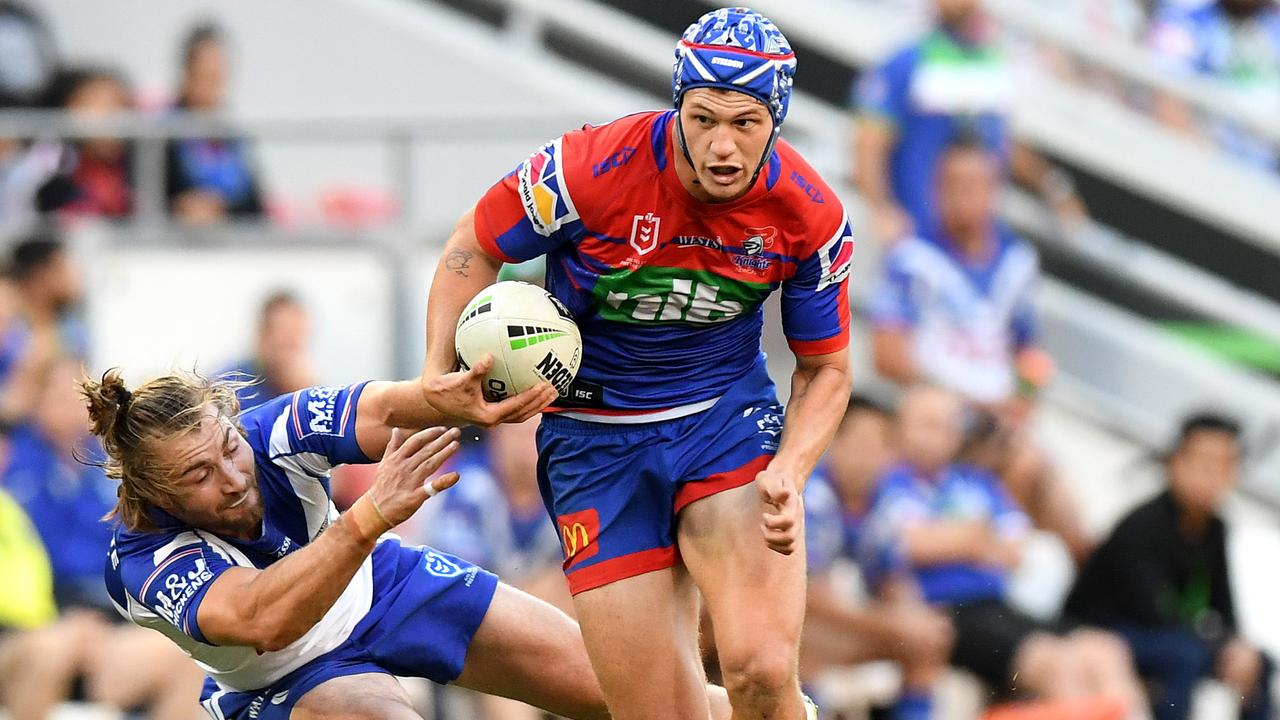 Kalyn Ponga and the Knights have plenty to play for in the run home. Picture: Getty Images