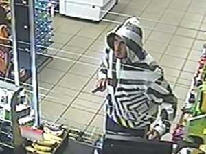 Police hunt for failed knife-wielding thief