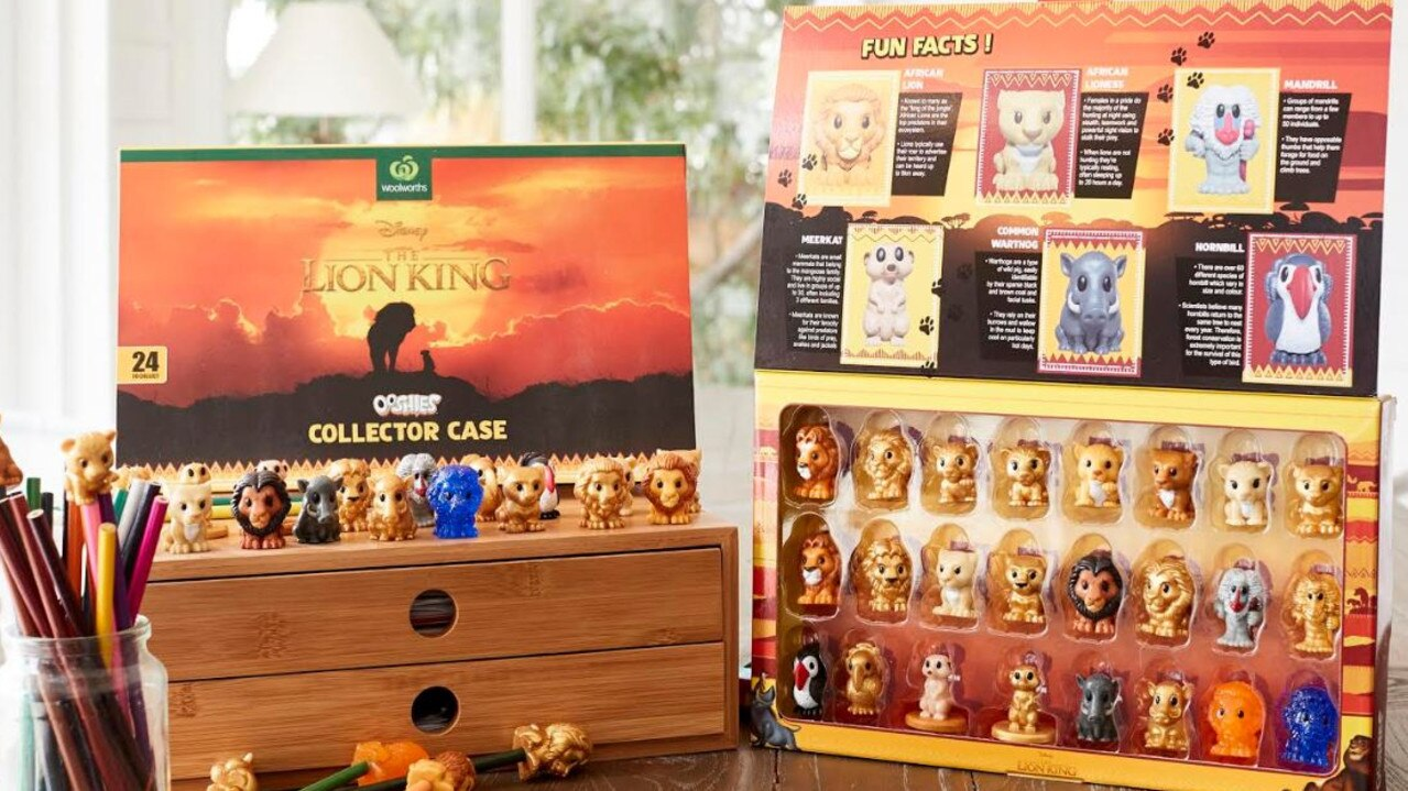 Disney and Woolworths team up to celebrate The Lion King.