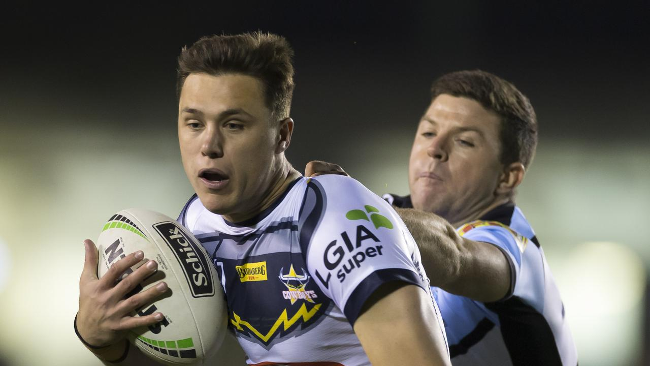 Scott Drinkwater was exceptional for the Cowboys. Picture: Craig Golding