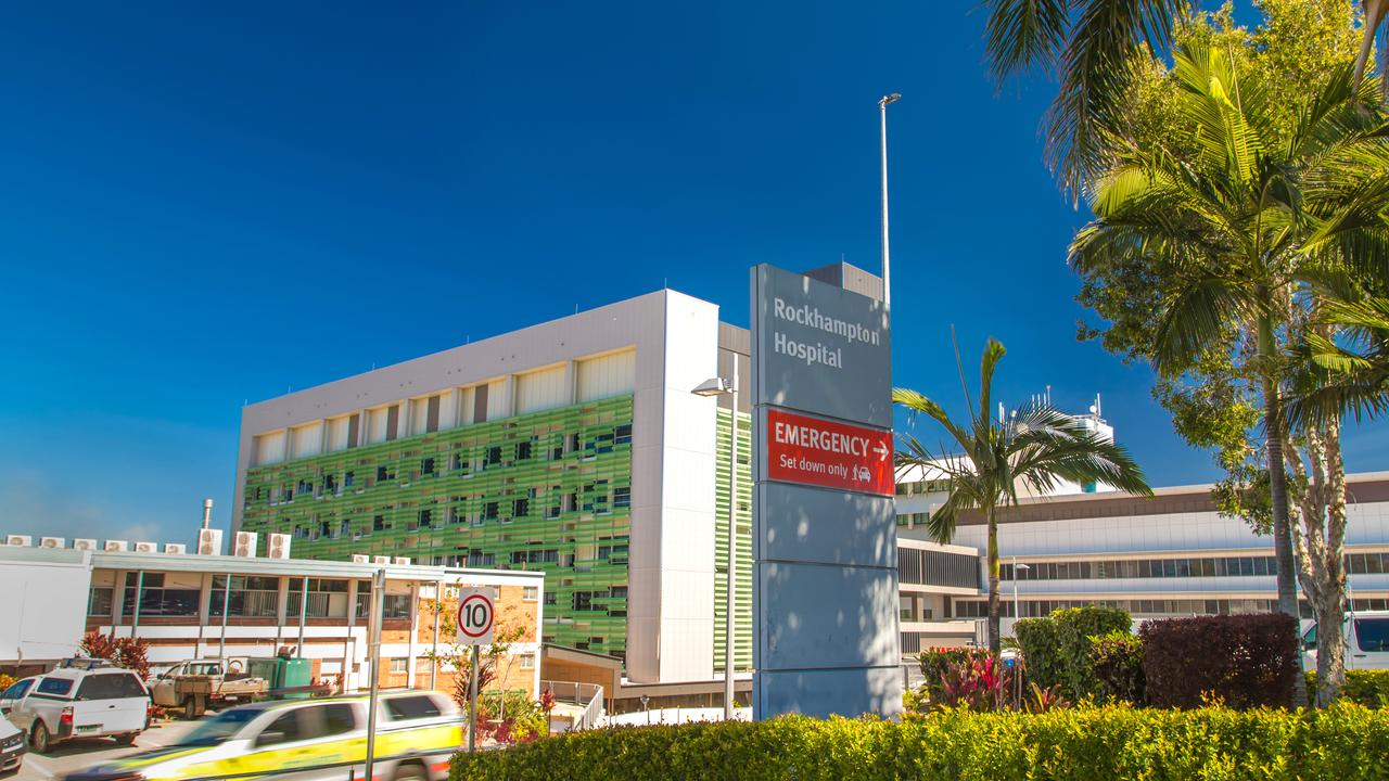 Rockhampton Base Hospital, where a mother says her baby was given insulin.