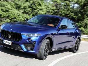 Finally it's a Maserati! SUV gets a V8 from Ferrari