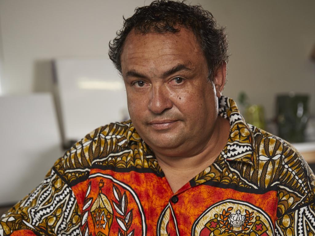 Torres Strait artist Dennis Nona