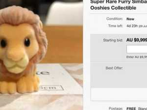 Lion King collectable selling for $10k