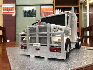 VIDEO: This isn't a model truck, it's a cake
