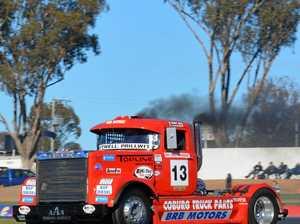 Super Truck showdown at Winton