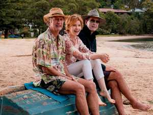 Brown puts on seniors hat for Aussie movie role