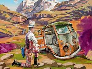 You can choose Sunshine Coast Art Prize winner