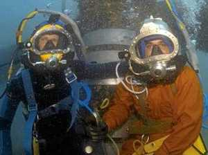 Buddies dive deep into new venture