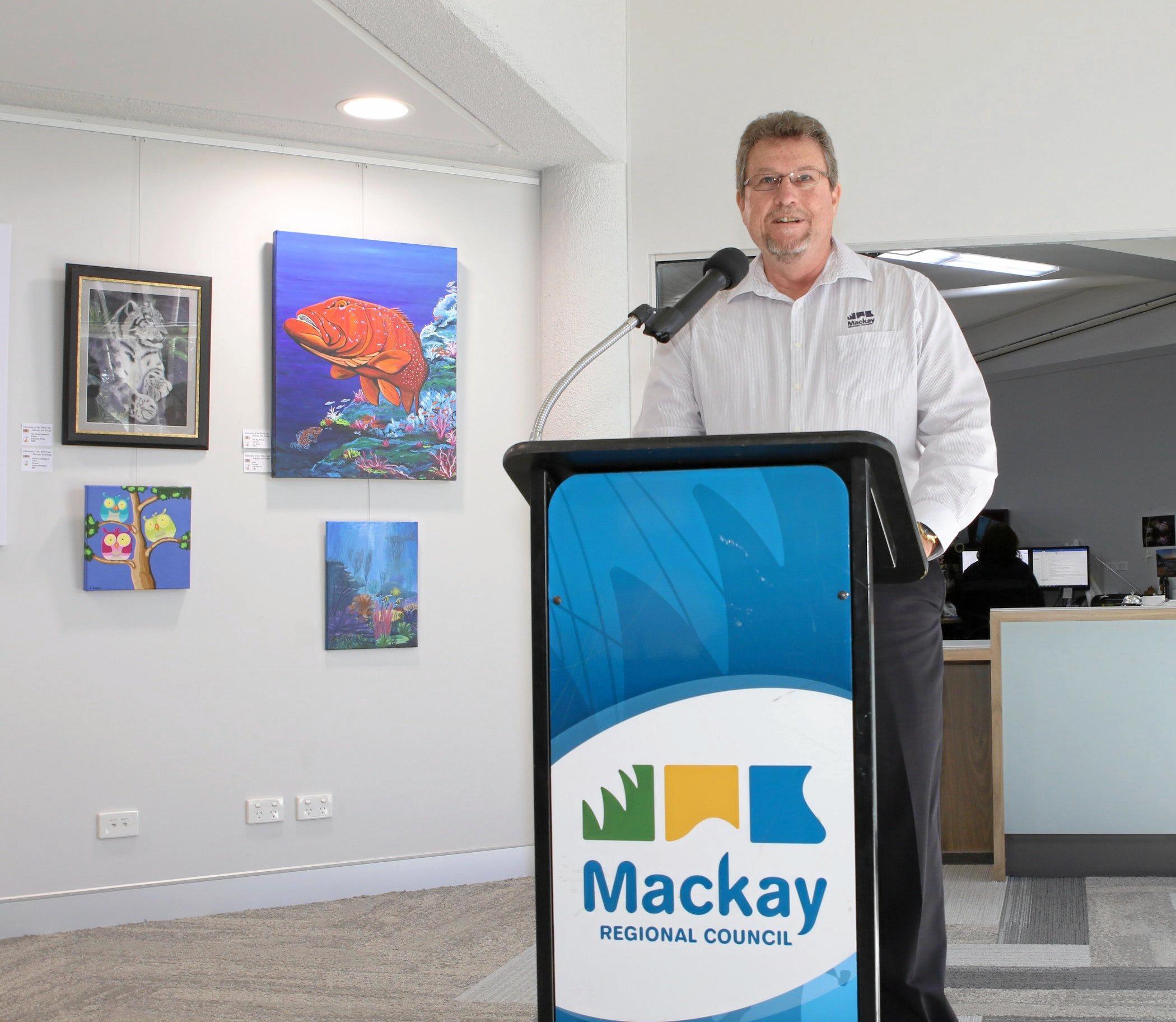 Tony De Brincat is celebrating 40 years as a council employee.