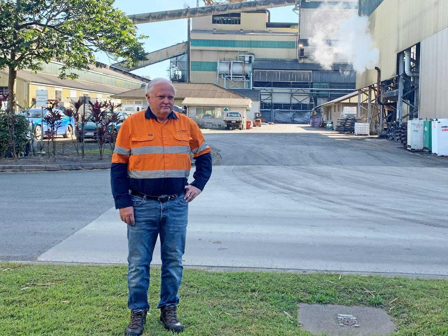 Mackay Sugar chief executive Mark Day.