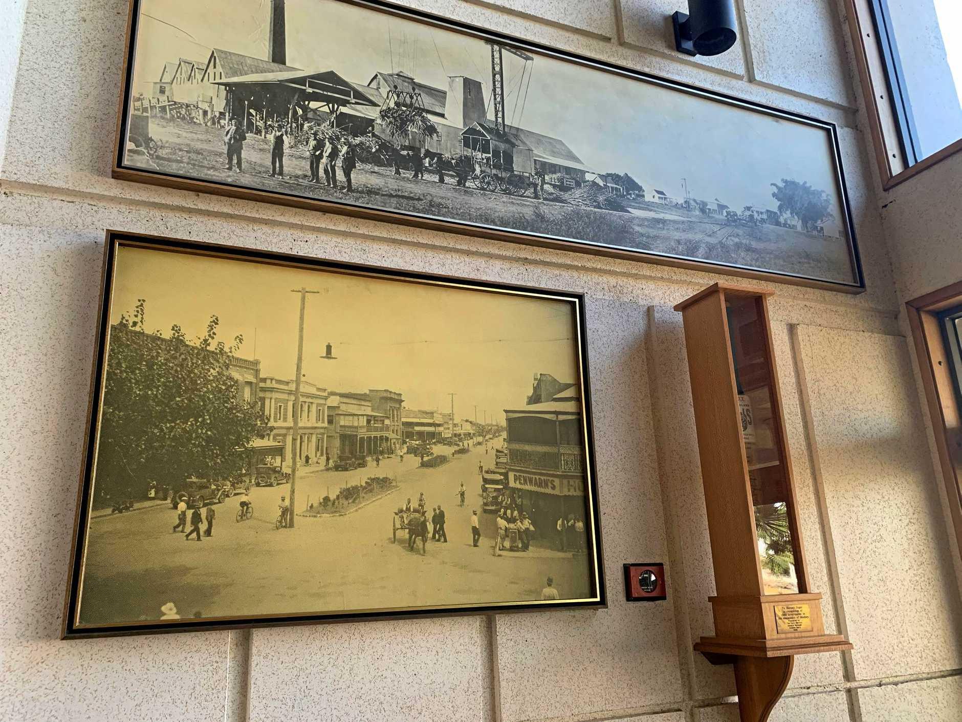 MACKAY SUGAR: Racecourse Mill offices.