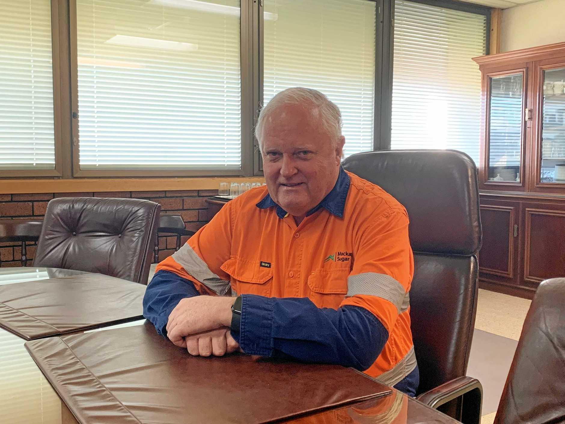 Mackay Sugar chief executive Mark Day