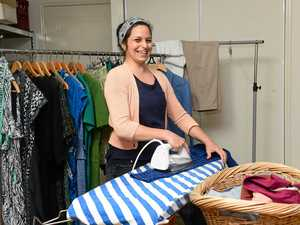 Why Laura ditched high-pressure role and took up ironing