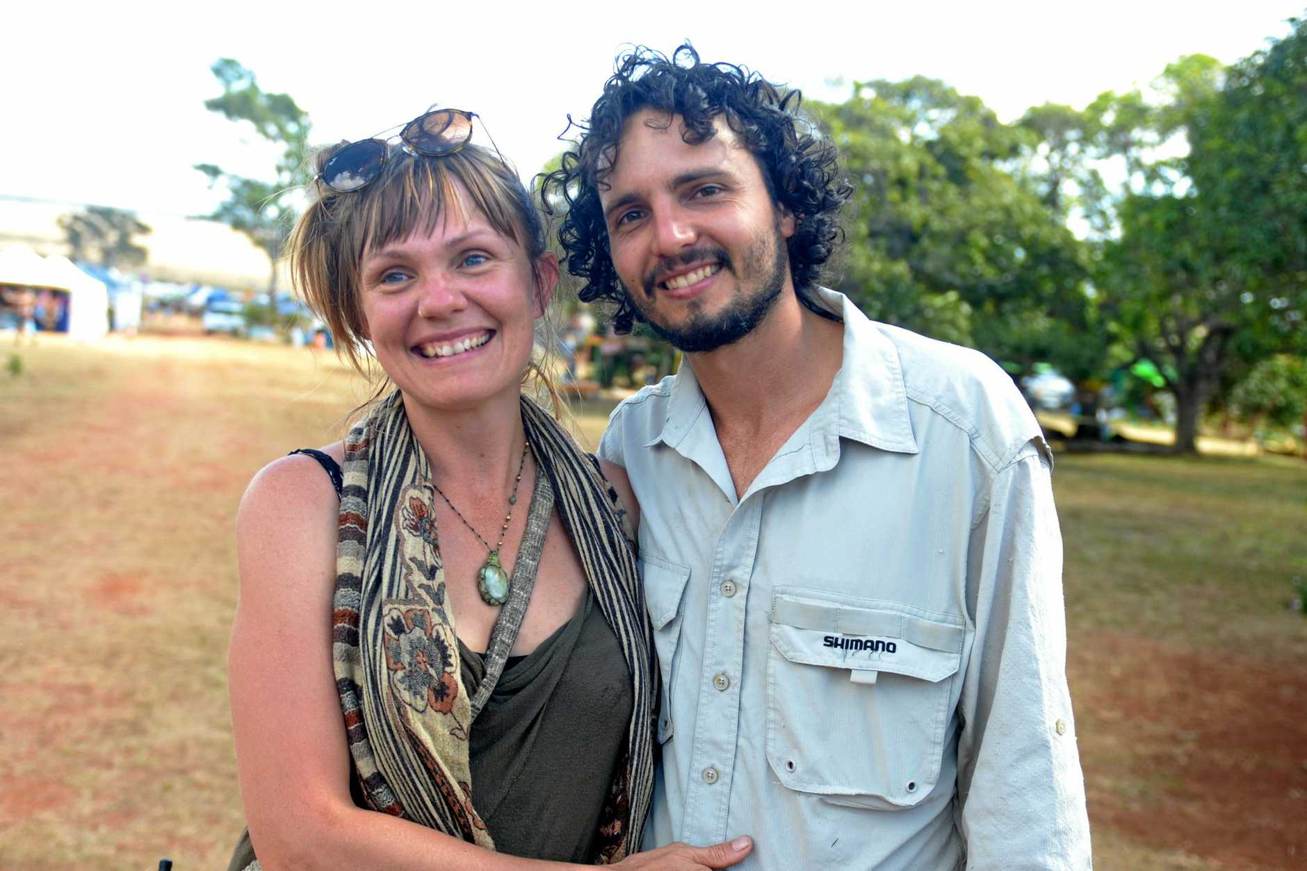 Cat Mason and Leo Honek started Tropical Bloom festival five years ago
