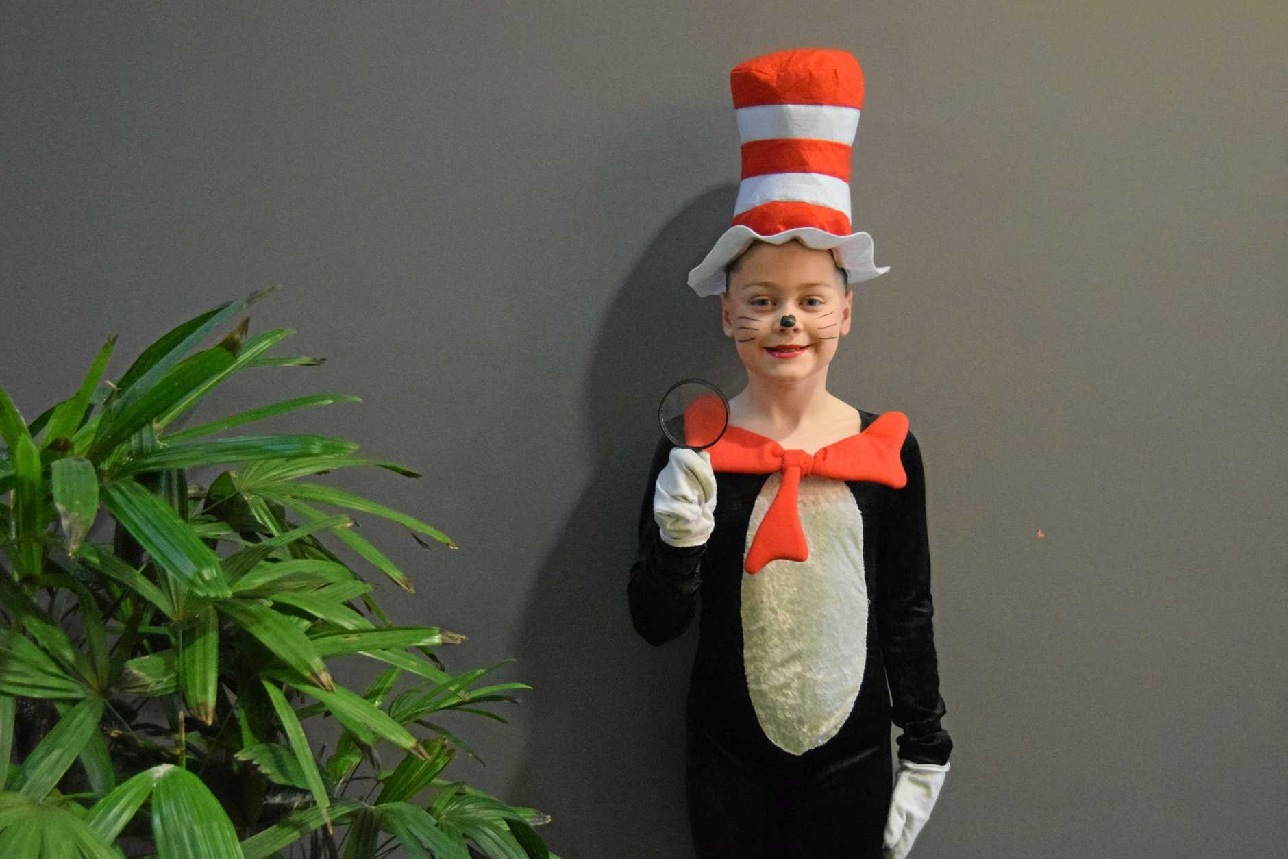 SEUSS: Abigail Tanner, a Cat in a Hat, takes Dr Seuss seriously and that must be that. Abigail is a student of the Sunshine Dance Centre at Caloundra.