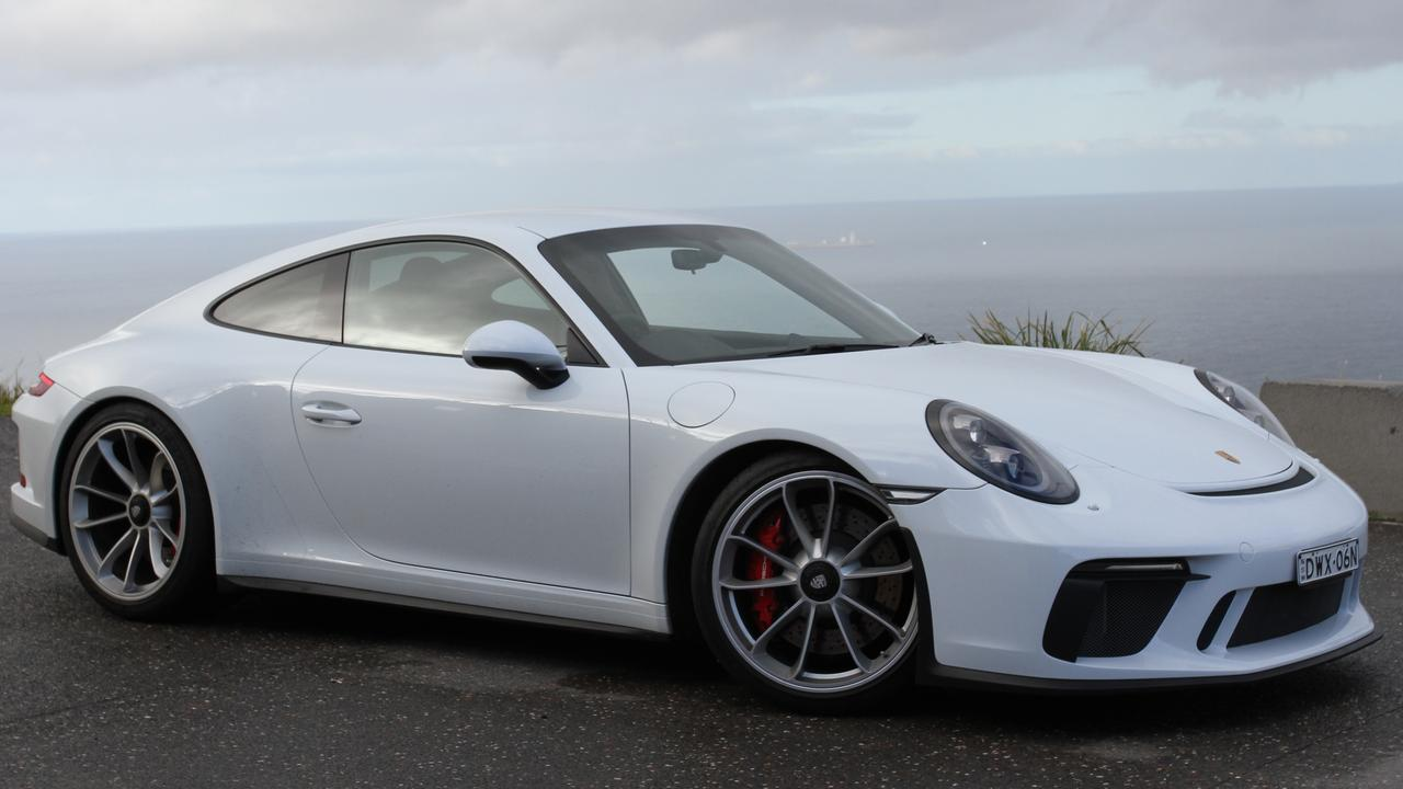 Old breed: The 911 GT3 Touring comes with a manual transmission only.