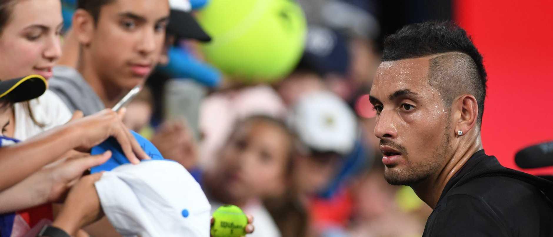 It's no secret what Nick Kyrgios thinks of Novak Djokovic. Picture: AAP Image/Julian Smith