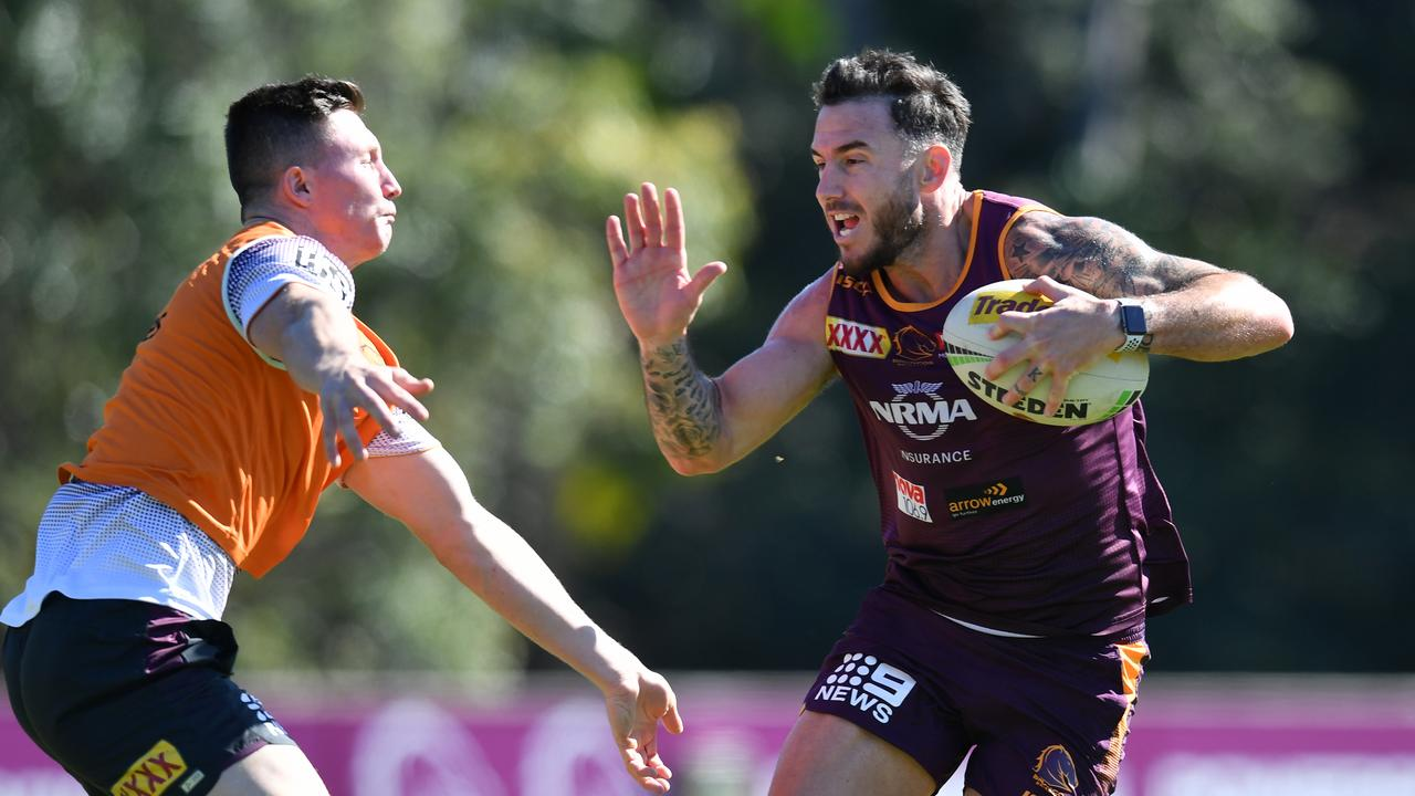 Darius Boyd says the Broncos will win a comp within two years. Picture: Darren England