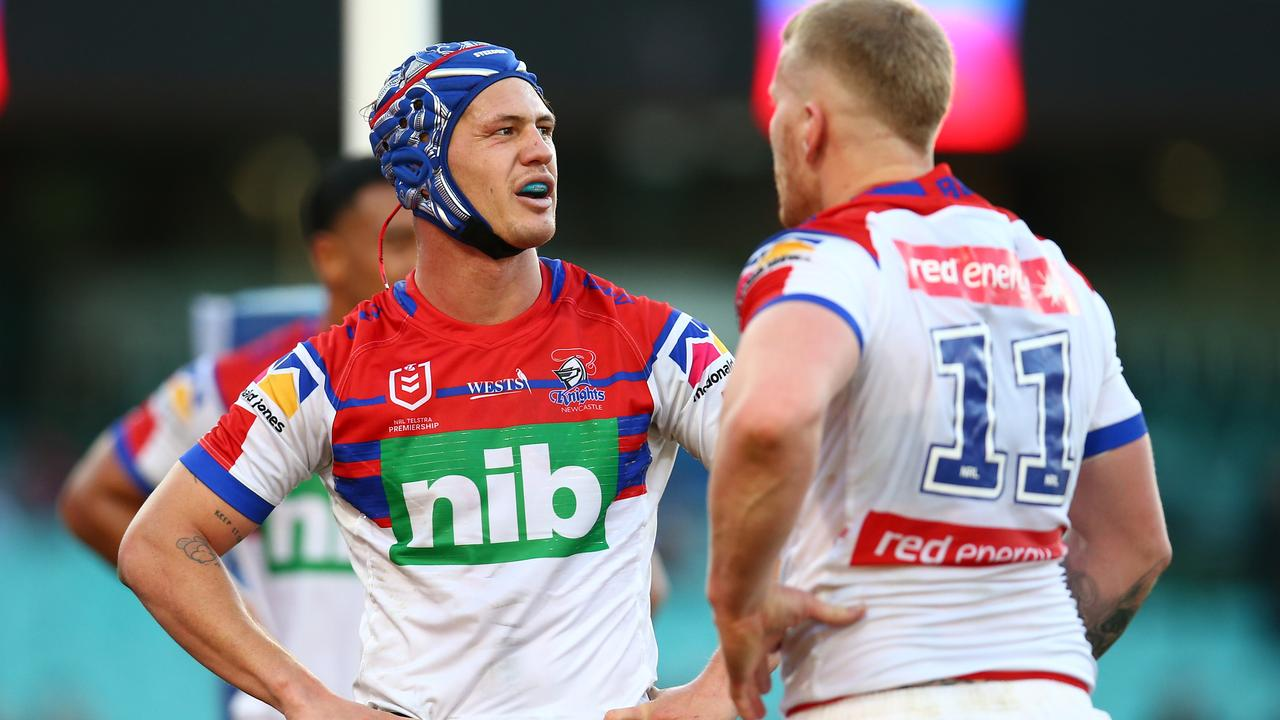 Kalyn Ponga has dropped off after the Origin series. Picture: Jason McCawley/Getty Images