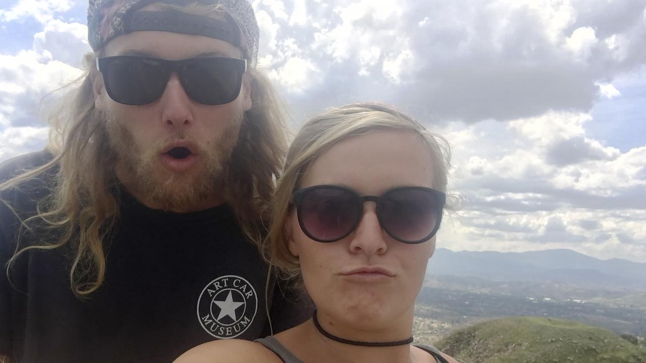 Australian Lucas Deese and his American girlfriend Chynna Deese were 'in love' and on the trip of a lifetime when they were found shot dead on a remote Canadian highway last week. Picture: Deese Family/AP.