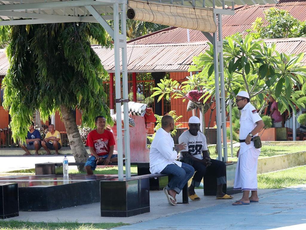 Inside Kerobokan prison, Bali. Picture: Liam Kidston