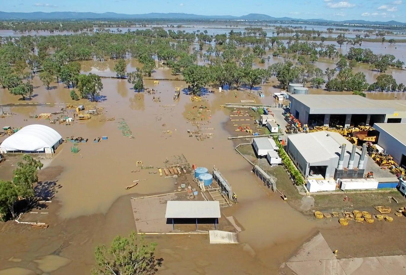CHOICES: Flood waters recede at Hastings Deering.