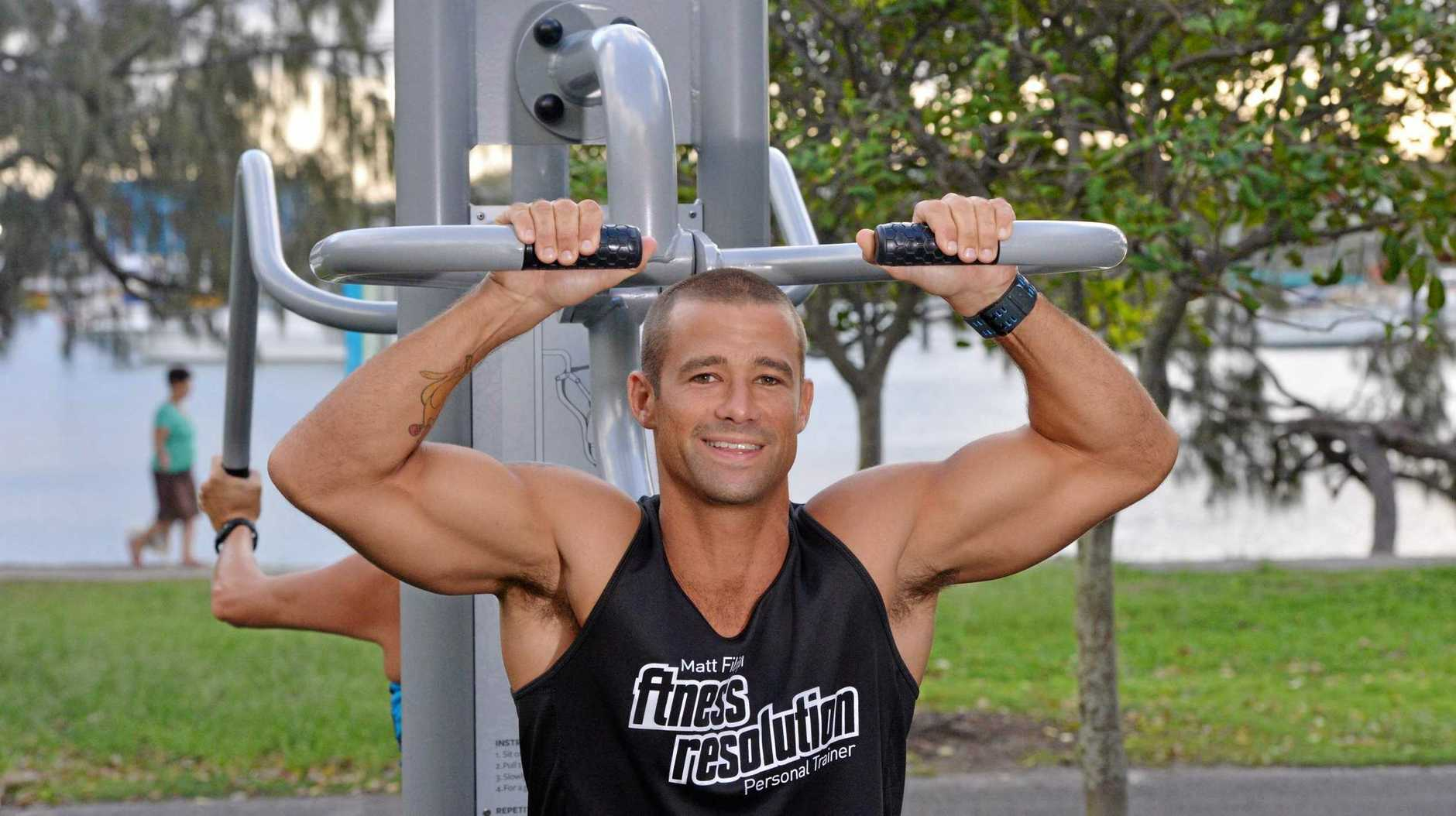 BEST PT: Matt Filippi has wowed crowds on Australian Ninja Warrior, and he's in the running to be named the best personal trainer on the Sunshine Coast.