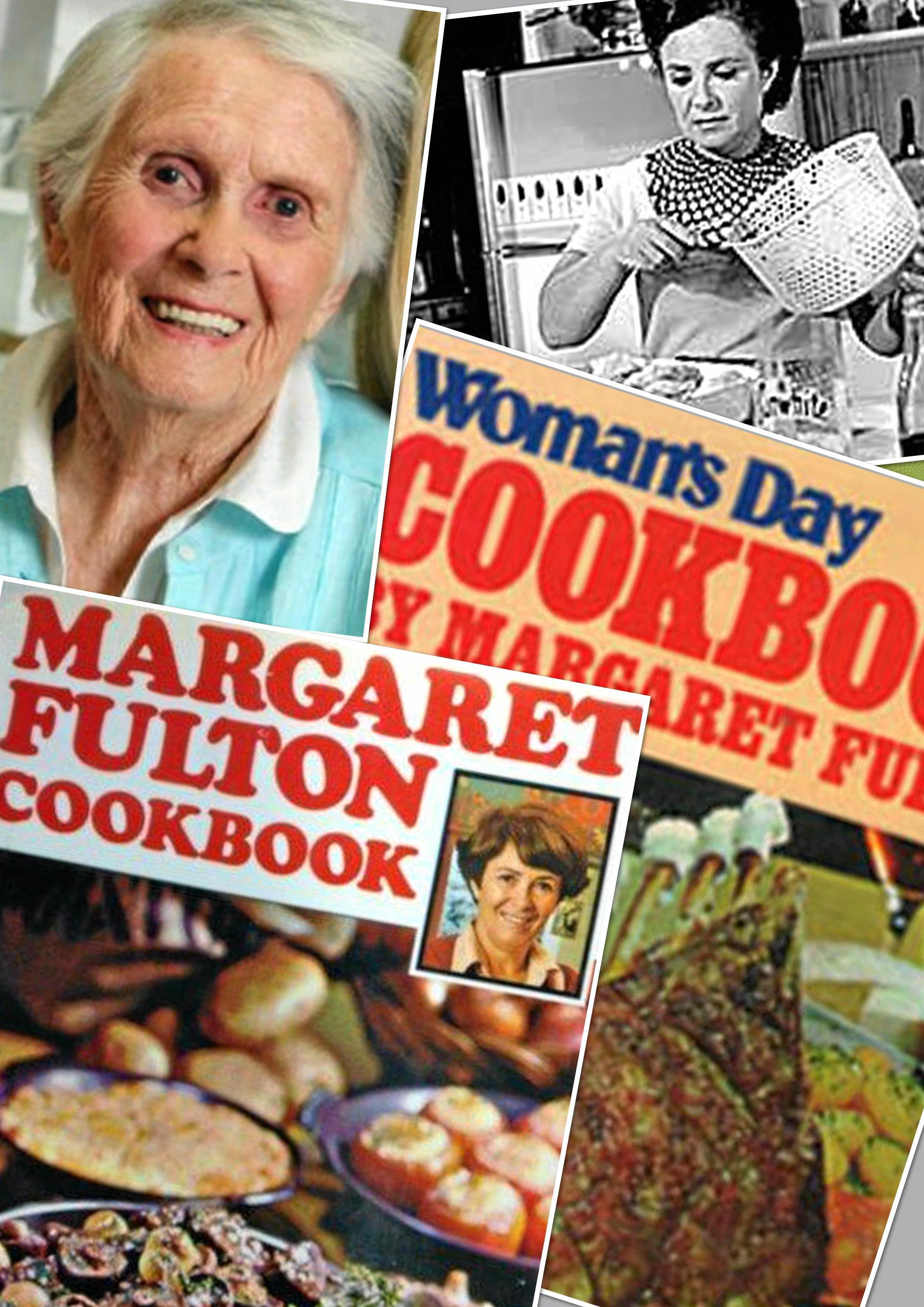 Tribute to cook Margaret Fulton.