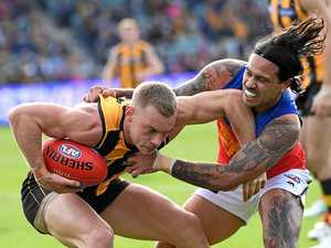 Lions make it six in a row with win over Hawks