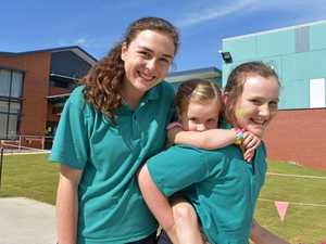 Students run, hop, and skip to victory at athletics carnival